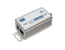 2N 2WIRE IP TO ANALOG COAX EXTENDER KIT (SET OF 2X ADAPTORS & POWER SOURCE)