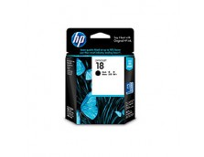 HP 18 BLACK INK 825 PAGE YIELD FOR OJ PRO L7300, L7500