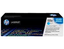 HP 125A CYAN TONER 1,400 PAGE YIELD FOR CLJ CM1312, CP15XX
