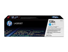 HP 128A CYAN TONER 1,300 PAGE YIELD FOR CLJ PRO CP1525, CM1415
