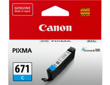 CANON CLI671C CYAN INK TANK FOR MG5760BK, MG6860, M7760