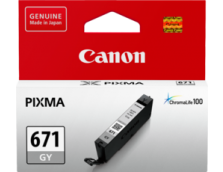 CANON CLI671GY GREY INK TANK FOR MG5760BK, MG6860, M7760