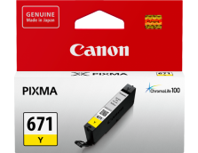 CANON CLI671Y YELLOW INK TANK FOR MG5760BK, MG6860, M7760