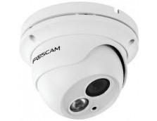FOSCAM FI9853EP 1MP 720P OUTDOOR WIRED POE DOME, 10M IR, MIROSD, WHITE