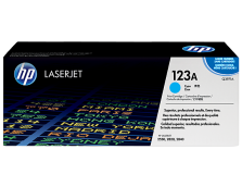 HP 123A CYAN TONER 2,000 PAGE YIELD DAMAGED PACKAGING