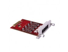 FXO ACCESSORY SLOT MODULE FOR U50 & U100 IP PBX
