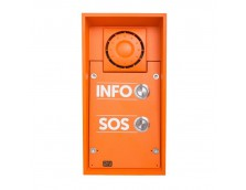 2N IP SAFETY - 2 BUTTONS & 10W SPEAKER, INFO/SOS LABELS