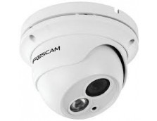 FOSCAM FI9853EP 1MP 720P OUTDOOR WIRED POE DOME, 10M IR, MIROSD, WHITE
