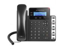 HD POE IP PHONE 132X48 LCD, 2 LINES, DUAL GIGABIT PORTS, 3 PROGRAM KEYS, 8 BLF,