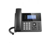 HD POE IP PHONE 200X80 LCD, 6 LINES, DUAL 10/100MBPS PORTS, 4 PROGRAM KEYS, 8 BLF,