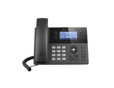 HD POE IP PHONE 200X80 LCD, 8 LINES, DUAL GIGABIT PORTS, 4 PROGRAM KEYS, 32 BLF,