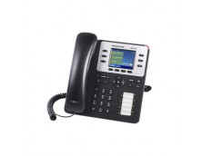 HD POE IP PHONE 320X240 COLOUR LCD, 3 LINES, DUAL GBE, 4 PROGRAM KEYS, BT
