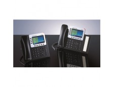 HD POE IP PHONE 480X272 COLOUR LCD, 6 LINES, DUAL GBE, 5 PROGRAM KEYS, 24 BLF KEYS, BT