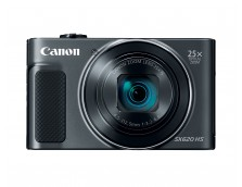 POWERSHOT SX620HS BLACK, 20.2 MP CMOS SENSOR, DIG!C 4+, 25X OPTICAL ZOOM, WI-FI