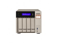 TVS473E NAS TOWER QUAD CORE AMD 2.1GHz PROCESSOR, 4X SATA6 HDD, 4GB DDR4 RAM