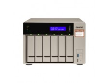 TVS673E NAS TOWER QUAD CORE AMD 2.1GHz PROCESSOR, 6X SATA6 HDD, 4GB DDR4 RAM