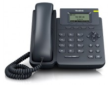 SINGLE LINE IP PHONE,32X64LCD POE/HDV, WALL MOUNTABLE NO POWER ADAPTER INCLUDED